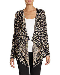 Brown Leopard Cardigans for Women | Women's Fashion