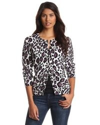 Leopard print cardigan medium 9031