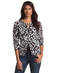 Leopard print cardigan medium 9031