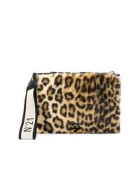N°21 N21 Leopard Print Clutch Bag
