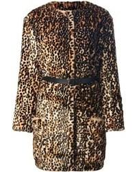 Nina Ricci Leopard Print Coat