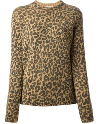 Each X Other Leopard Print Sweater