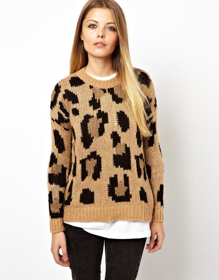 Pull&Bear Leopard Print Sweater | Where to buy & how to wear