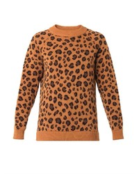 Tak Ori Cortina Leopard Knit Sweater