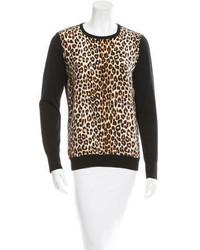 Equipment Wool Silk Blend Sweater
