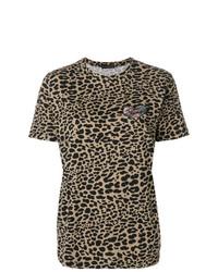 Etro Embroidered Animal Print T Shirt