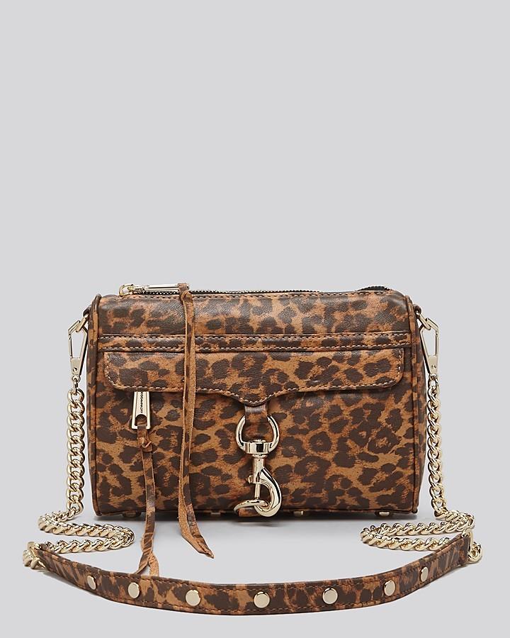 add12d5f4a ... Brown Leopard Crossbody Bags Rebecca Minkoff Crossbody Leopard Print  Mini Mac ...