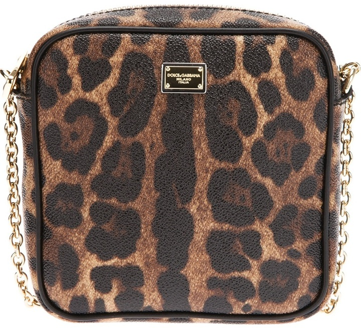 ... Dolce   Gabbana Leopard Print Crossbody Bag ff5cc9545a27c