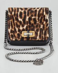 Lanvin Mini Poppy Crossbody Bag Leopard