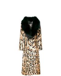 Leopard print coat medium 8163281