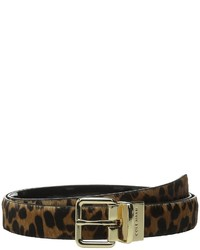 Cole Haan 25mm Reversible Printed Haircalf To Patent Belt