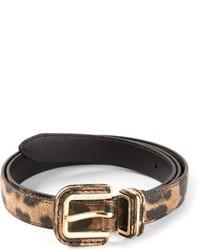 Leopard print belt medium 1361495
