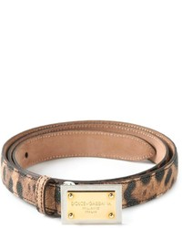 Leopard print belt medium 197133