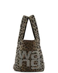 Alexander Wang Brown And Black Wangloc Shopper Bag