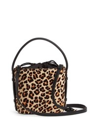 Topshop Samira Calf Hair Bucket Bag