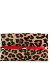 Diane von Furstenberg 440 Envelope Leopard Print Clutch