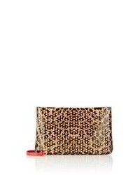 Loubiposh studded clutch medium 534149