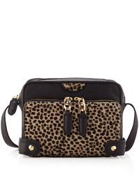 Be & D Binky Leopard Print Crossbody Bag
