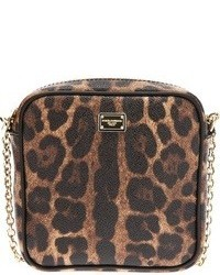 Dolce gabbana leopard print crossbody bag medium 22587