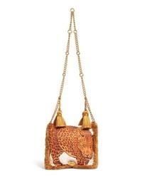 Pillow talk leopard print shoulder bag medium 8828637