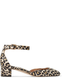 Evelyn leopard print leather pumps leopard print medium 3659392