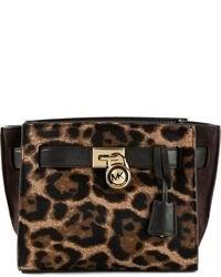 07aea44a5be72 Michl Michl Kors Large Selma Leopard Satchel Out of stock · MICHAEL Michael  Kors Michl Michl Kors Hamilton Traveler Leopard Print Messenger Bag