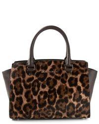 b0f1b9cc3abf5 Women s Brown Leopard Leather Satchel Bags by MICHAEL Michael Kors ...