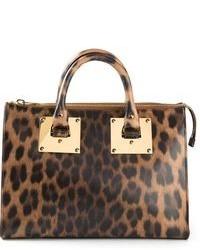 Sophie hulme leopard print tote medium 101232