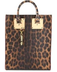 Sophie hulme mini leopard print tote medium 101231