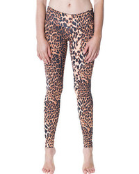 Candida maria leggings brown leopard medium 55418