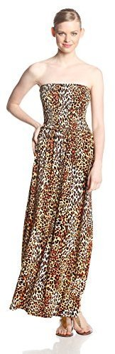 Anne Klein Petite Leopard Print Maxi Dress | Where to buy & how to ...