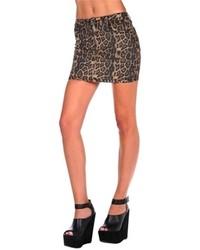Tripp reversible mini denim skirt medium 65021