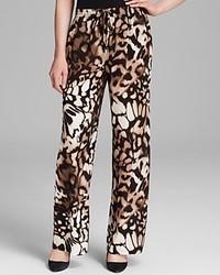 Calvin Klein Printed Drawstring Pants