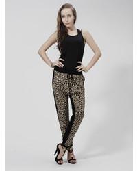 Choies celebona leopard print lounge pant medium 87106