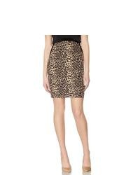 The Limited Obr Leopard Print Pencil Skirt