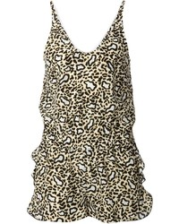 Stella McCartney Leopard Playsuit