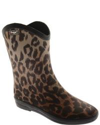 Pajar Rena Low Brown Leopard Boots