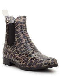 Sam Edelman Tinsley Leopard Print Chelsea Rain Boots