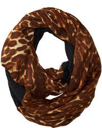 Lauren Ralph Lauren Leopard Infinity Loop Scarf