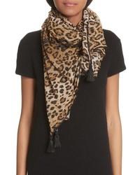 Leopard print scarf medium 8800018