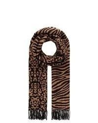 River Island Scarf Brown