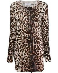 Moschino Cheap & Chic Leopard Print Dress