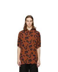 Stella McCartney Orange And Black Ricardo Shirt