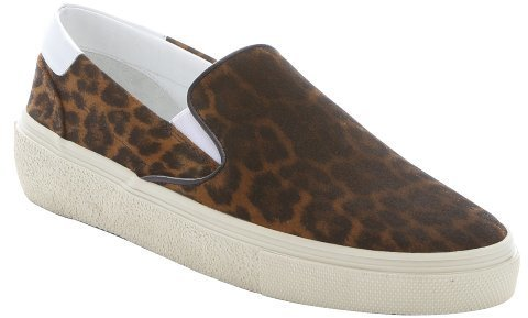 Saint Laurent Suede Slip-On Sneakers discount latest collections 25TCinG
