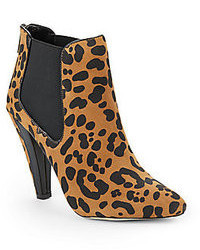 Fife leopard print suede ankle boots medium 34668