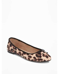 Old Navy Sueded Classic Ballet Flats For
