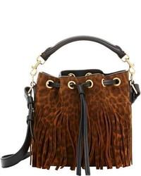 Emmanuelle small bucket bag black medium 200003