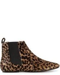 d5832cbfd7b Women's Leopard Boots by Isabel Marant | Women's Fashion | Lookastic.com