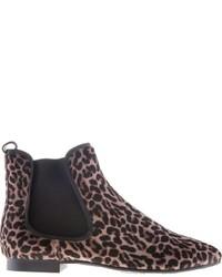 Leopard print chelsea boots medium 1361712