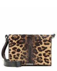 Victoria Beckham Mini Leather And Calf Hair Shoulder Bag